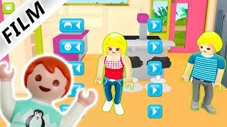 Playmobil Film deutsch| EMMA SPIELT PLAYMOBIL LUXUSVILLA App deutsch - Wo sind Familie Vogel Kinder?