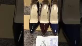 видео Прозрачные туфли Christian Louboutin