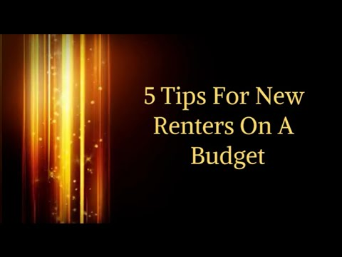 5 DIY Tips For New Renters On A Budget (HD)