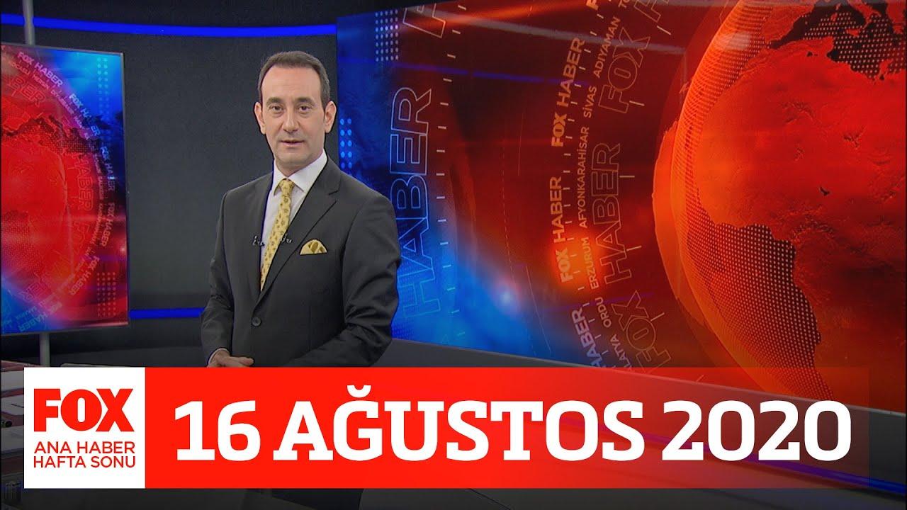 Akdeniz Kalkanı Harekatı sürüyor! 16 Ağustos 2020 FOX Ana Haber Hafta Sonu