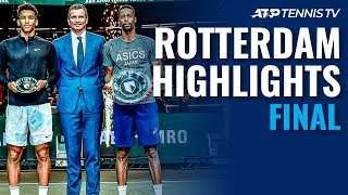 Gael Monfils Defeats Auger-aliassime For 10th Atp Title 🏆   Rotterdam 2020 Final Highlights