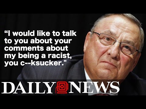 STRONG LANGUAGE: Gov. Paul LePage leaves profanity-laced voicemail for political rival