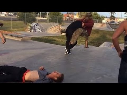 Download SKATERS VS ANGRY PEOPLE EXTREME - RAGE COMPILATION