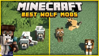 10 Great Minecraft Mods that Change Wolves!