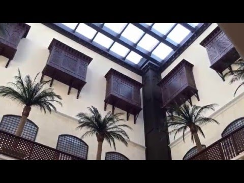 Stunning Arabic architecture at the Souk market inside the #Dubai Mall.