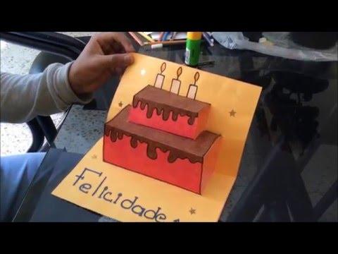 como hacer una carta de cumpleaos FACIL Y BONITA YouTube