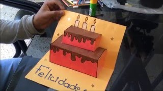 como hacer una carta de cumpleaños (FACIL Y BONITA)