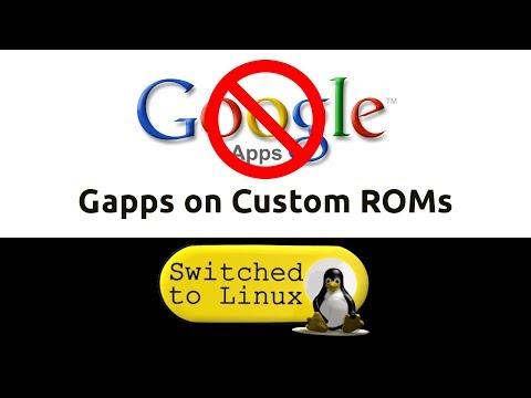 Google Blocks Gapps from Custom ROMs