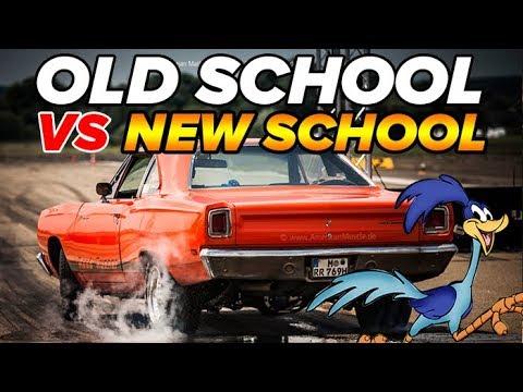 Old School battles New Muscle! Dodge Demon vs 1969 Road Runner