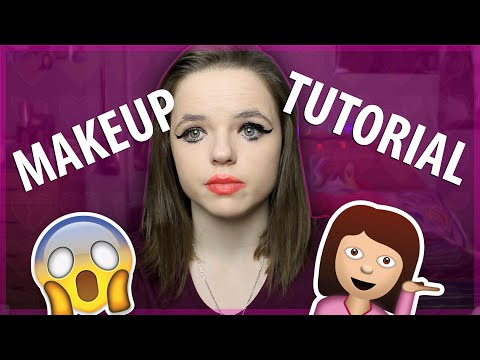 HOW TO BE A TEENAGE GIRL - Beauty Tutorial.