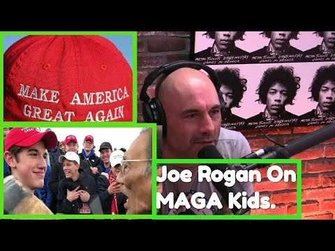 e72e9f884a3 Joe Rogan speaks about MAGA kids Controversy. - YouTube