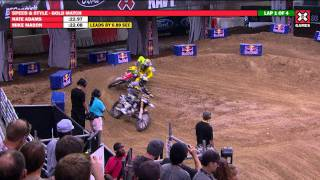 X Games 17: Nate Adams takes Gold in Moto X Speed and Style