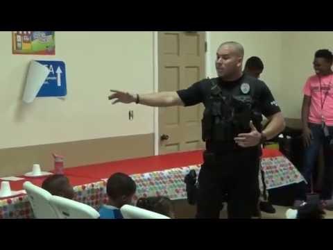 07/20/2016 - V.B.S. - Officer Frazier & K9 visit @ D.O.Z. - Delray Beach, FL