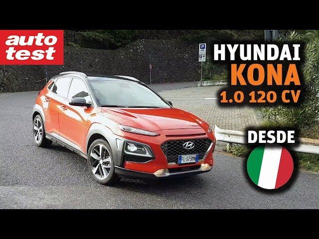Contacto: Hyundai Kona 1.0 desde Italia
