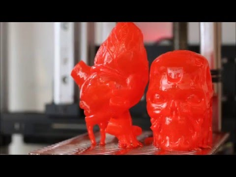 2 detailed prints printed in 1 hour and 36 minutes - real time video