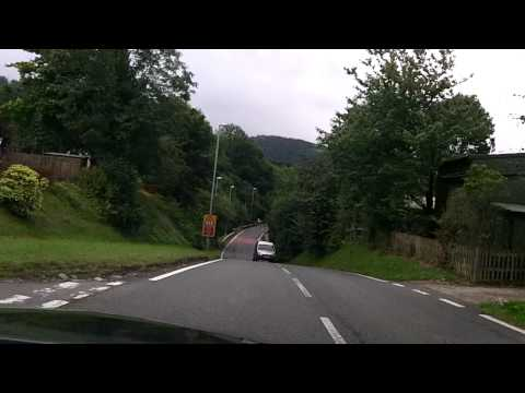 Driving Mid wales August