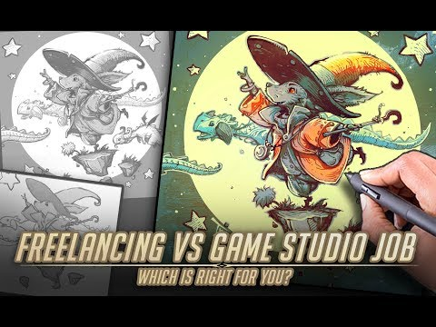 Freelance vs Game Studio job – Which is the right career path for you?