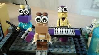 Lego самоделка на тему пиццерия Фреди