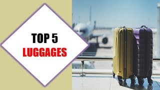 Top 5 Best Luggages 2018 | Best Luggage Review By Jumpy Express