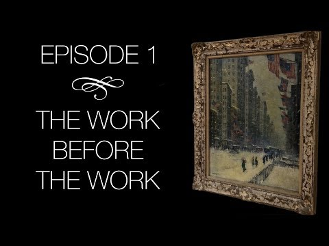 The Conservation of Guy Wiggins -  Episode 1: 'The Work Before The Work'