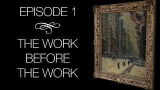 "The Conservation of Guy Wiggins -  Episode 1: ""The Work Before The Work"""