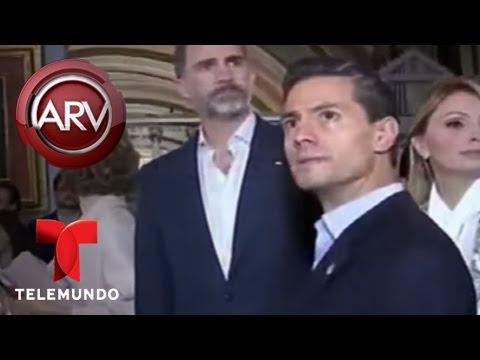 Analizan comportamiento de Peña Nieto y Angélica Rivera | Al Rojo Vivo | Telemundo