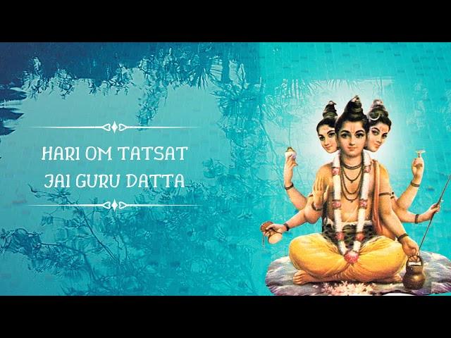 Hari Om Tatsat Jai Guru Datta   Maha Mantra   Dhun   Punitachariji Maharaj   Aditya Gadhvi