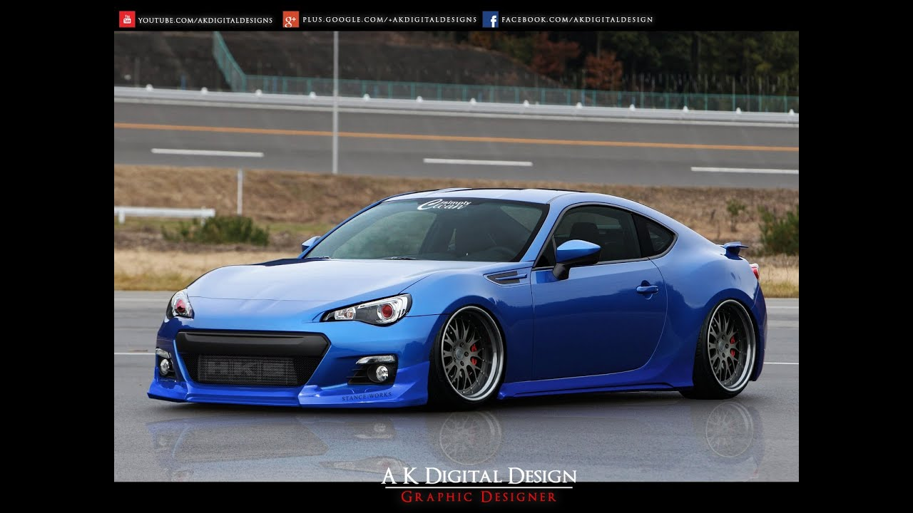 2013 subaru brz modified youtube. Black Bedroom Furniture Sets. Home Design Ideas