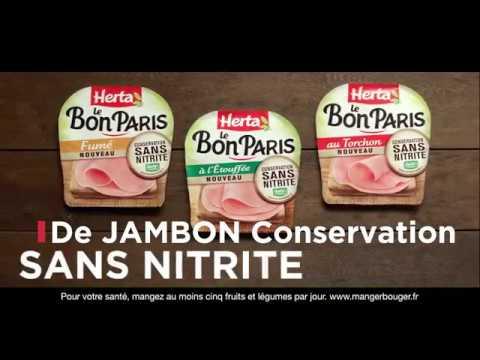 Herta® Le Bon Paris Conservation Sans Nitrites : 4 ingrédients et c'est tout