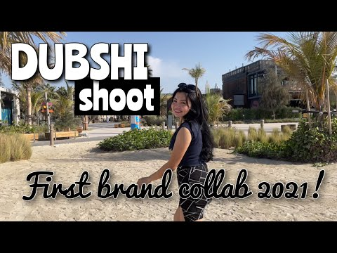 DUBSHI brand collaboration (shoot) 2021! [palace downtown, dubai mall, la mer beach, burj al arab]