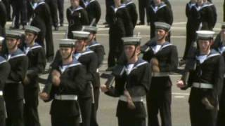 Royal Navy HMS Raleigh Cunningham Division Passing out Parade May 21st 2010 (Part 2)