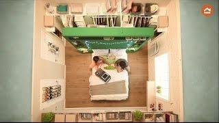 Gambar cover Espacios pequeños - Dormitorio de 13 m2