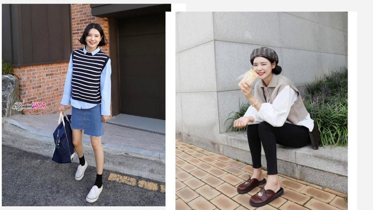 Những mẫu áo Gile len nữ đẹp cho mùa Đông ấm