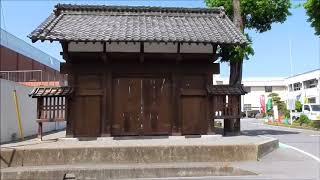 吉井藩陣屋の表門・・高崎/群馬