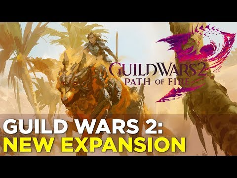 Guild Wars 2: Path of Fire – GAMEPLAY from the NEW EXPANSION