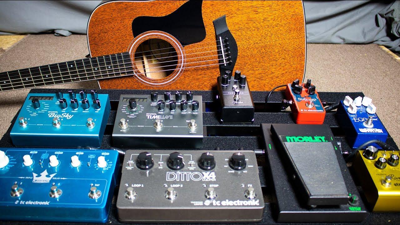 acoustic ambient guitar meditation new pedalboard build youtube. Black Bedroom Furniture Sets. Home Design Ideas