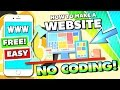 How To: Make a Website for FREE From Scratch (NO CODING NEEDED) - Step by Step EASIEST WAY! 2017