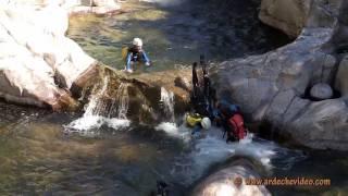 Ardèche et Lozère - Canyoning dans le Chassezac