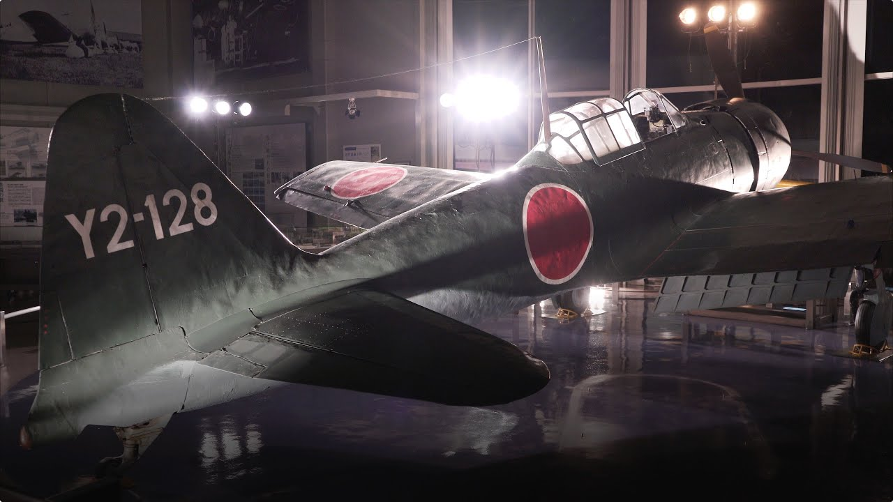 Japanese Zero Fighter 4k Ultra Hd 零戦 Youtube