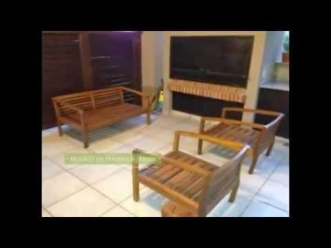 Sillones nordicos muebles de madera y jard n com youtube for Sillones de jardin de madera