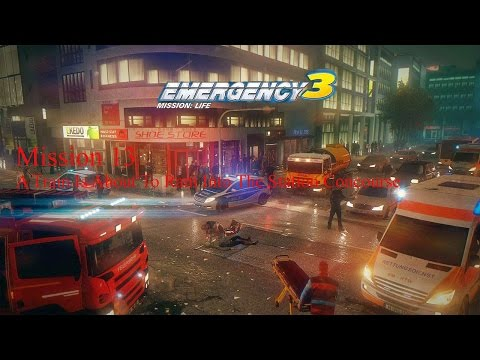 Let's Play Emergency 3 Mission 13 - A Train is About to Ram Into the Station Concourse