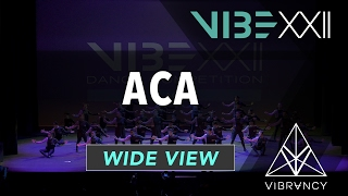 ACA | VIBE XXII 2017 [@VIBRVNCY 4K] #vibedancecomp