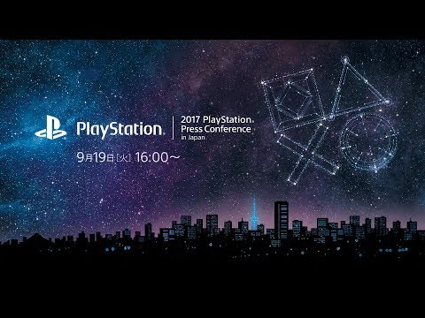 2017 PlayStation® Press Conference in Japan