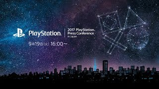 2017 PlayStation Press Conference in Japan