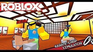 Roblox ? St. Karate Scales Sever Simulador de Corte de Karate (Karate Chop Simulator) MinhMaMa