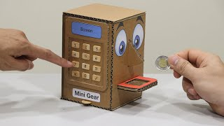 How to make a BOX Eating Coin - Personal Saving Coin Bank