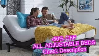 split king adjustable bed with mattress reviews - comfort and support