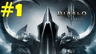 Diablo 3 Reaper of Souls Walkthrough Part 1 Gameplay Let