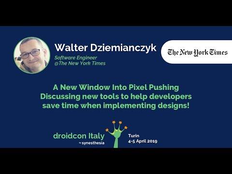 Walter Dziemianczyk - A New Window Into Pixel Pushing