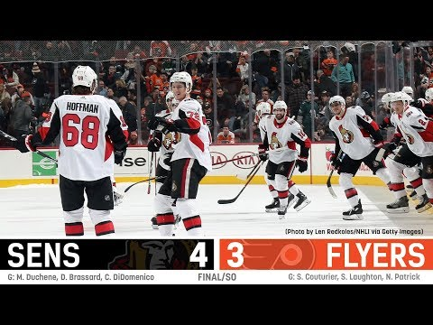 Sens vs. Flyers - Players Post-game